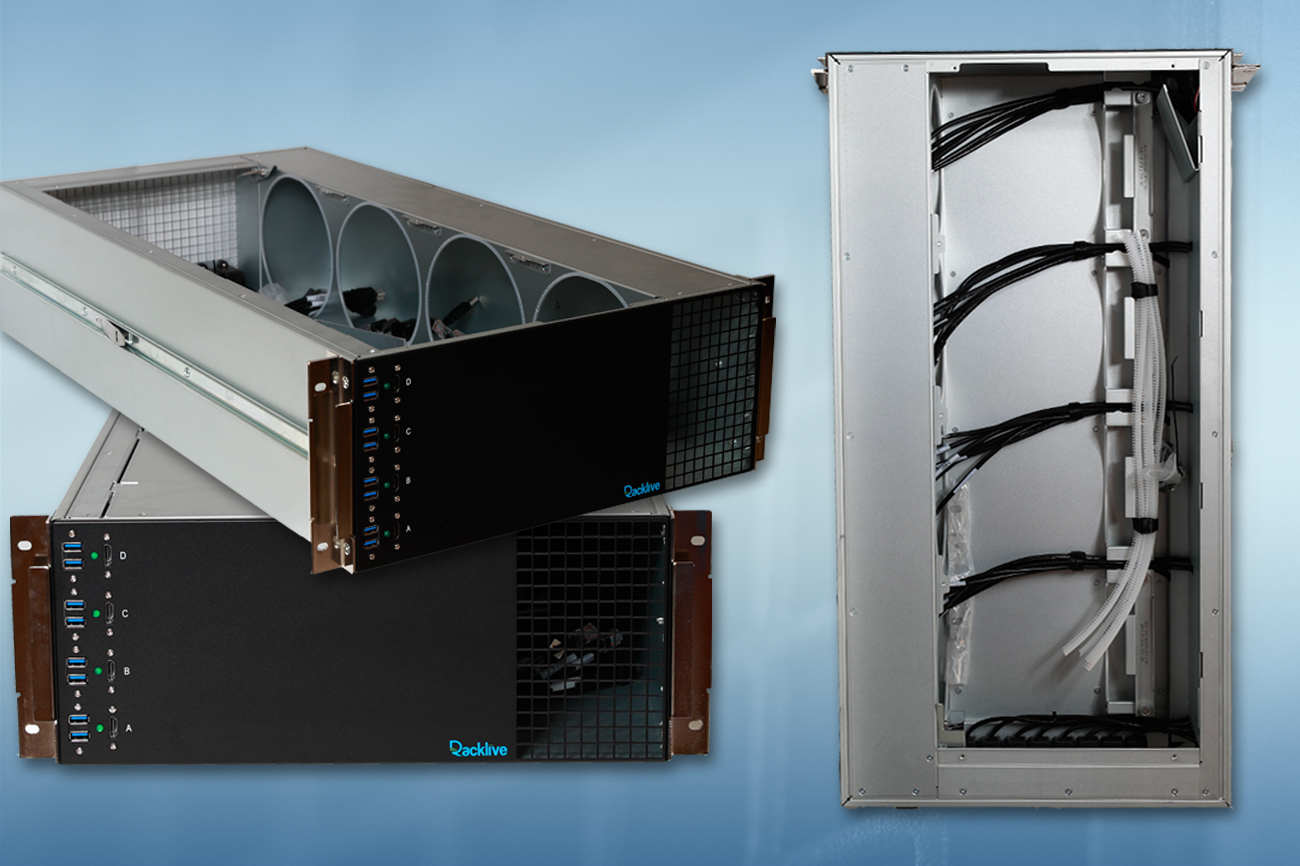 Custom Chassis Designed for Mac Pros