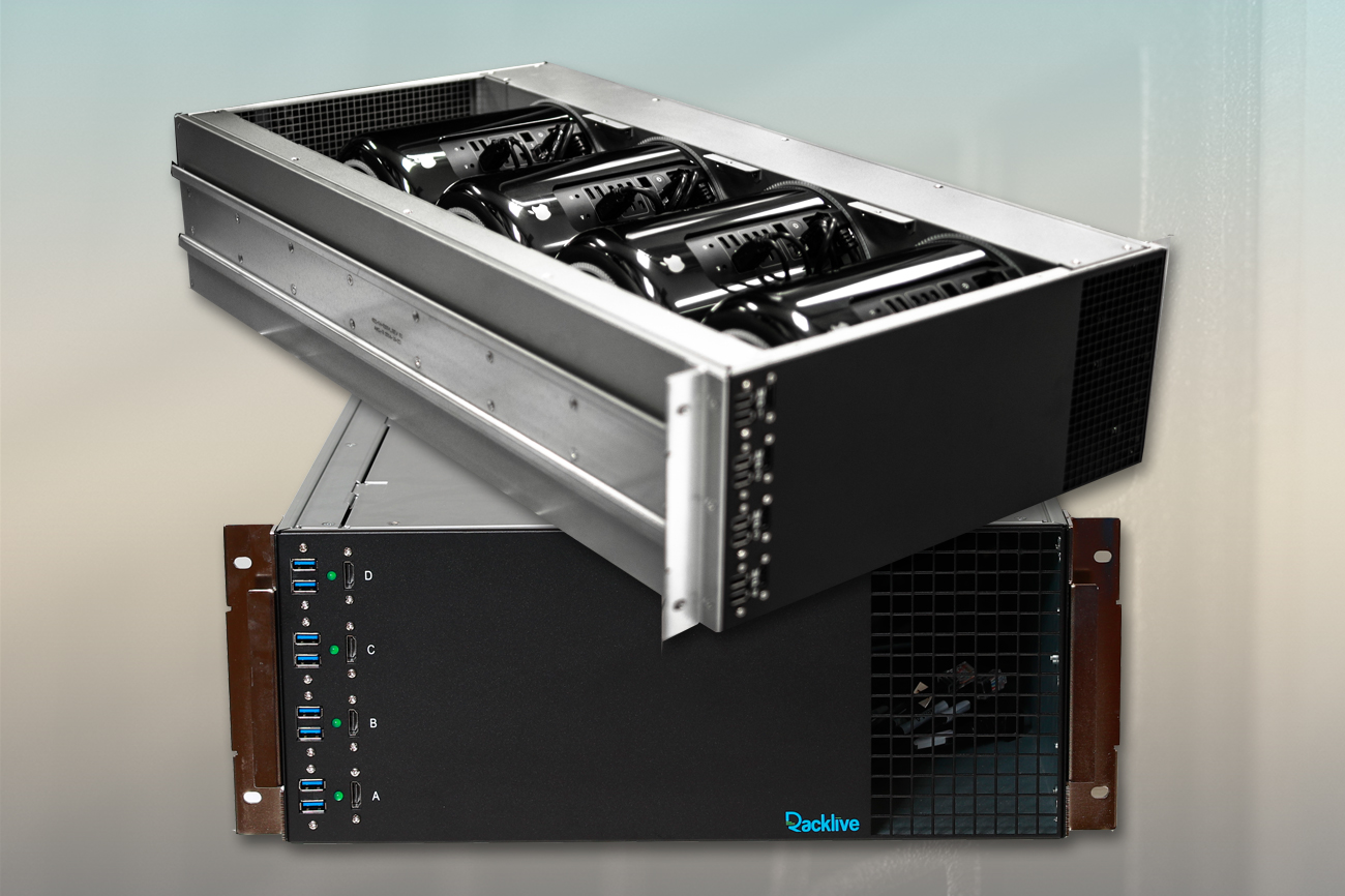 Custom Chassis with Mac Pros
