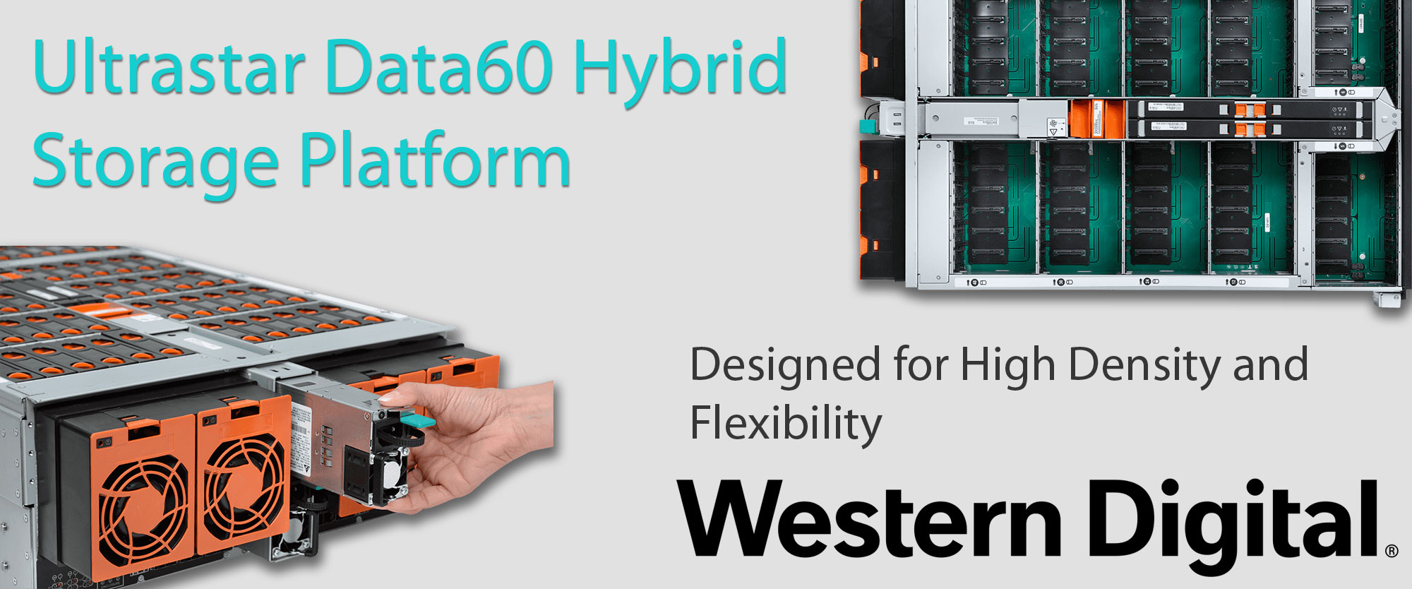 Ultrastar Data60 Hybrid Storage Platform