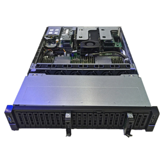 2U24 Flash Storage Platform Front View